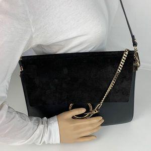 Chloe Bags - New Chloe Faye Medium Italian Leather Shoulder Bag